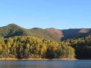 Early Fall on Watauga Lake